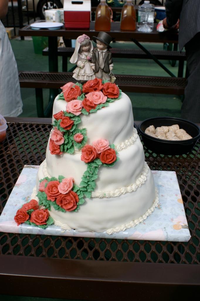 10 year ann. cake