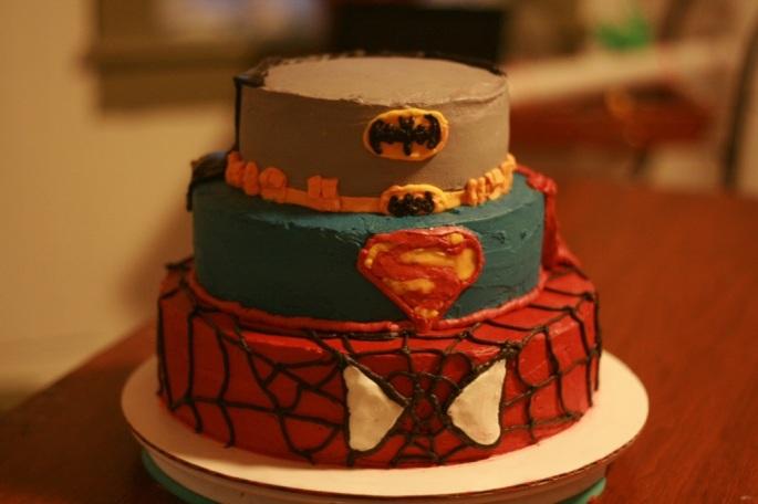 Superhero cake pic 3