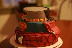 Superhero cake pic 2